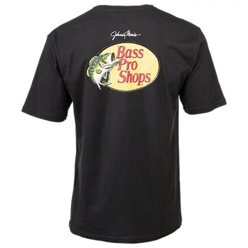 BASS PRO SHOPS LOGO TEE - BLACK