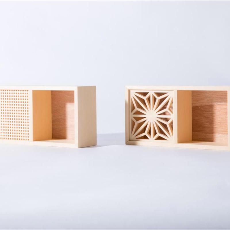 Box   -格子柄 Koushi-