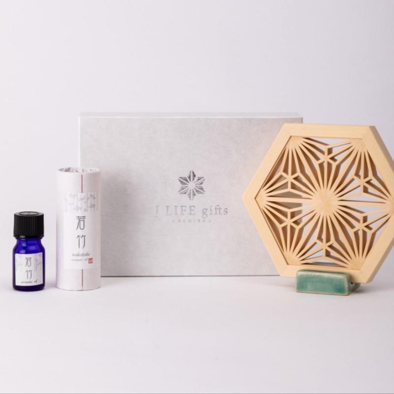 Aroma Wood  -八重麻の葉  Eightfold  Asanoha-