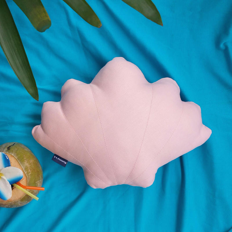 Shell Cushion. Sweet Pink コットンシェルクッション ♡