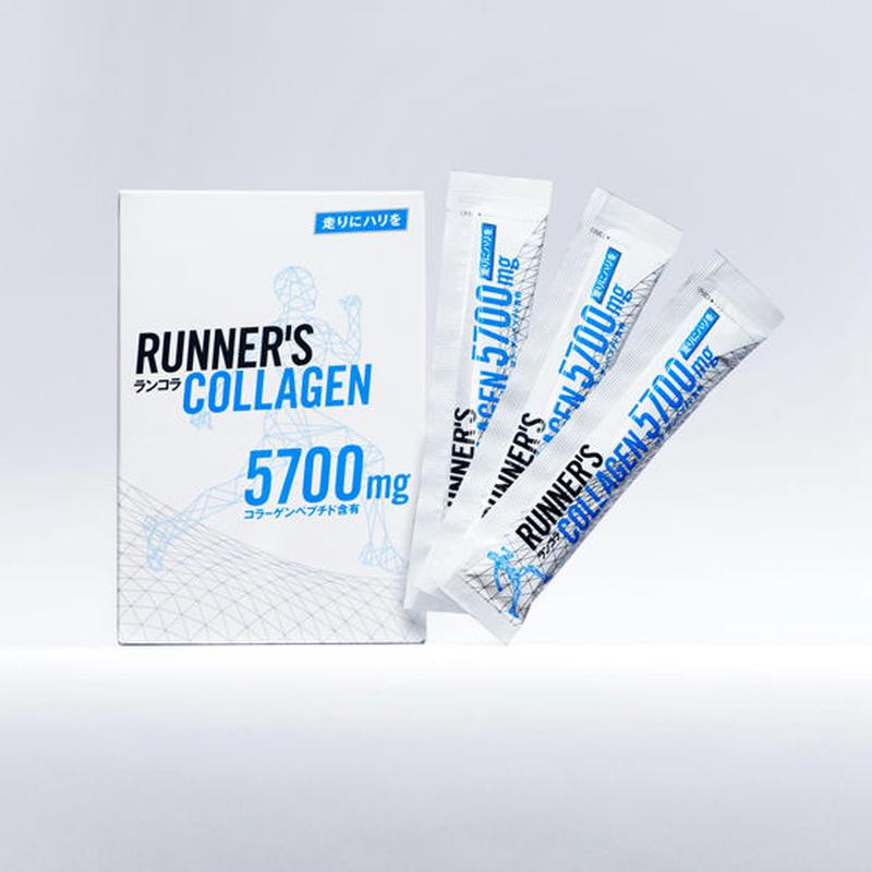 Runner's Collagen 5700mg  1箱  (30包入)