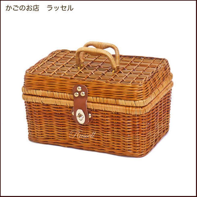 型番914 (914)ピクニック 行楽かごバスケット 運動会ランチボックス お弁当入れ 【かごのお店ラッセル STORES】