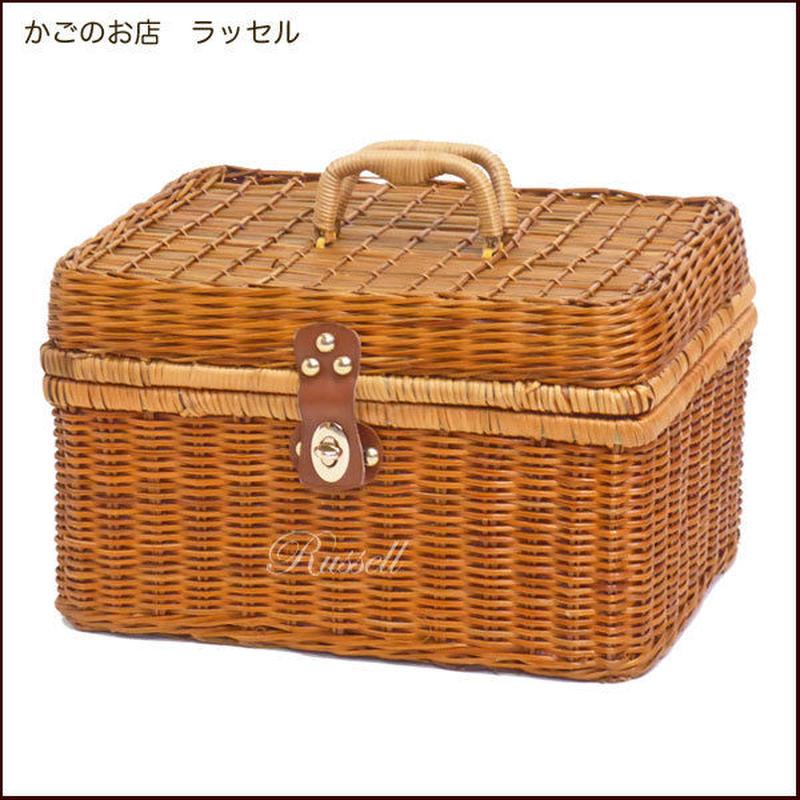 型番915(915) ピクニックバスケット 運動会ランチボックス お弁当入れ 【かごのお店ラッセル STORES】