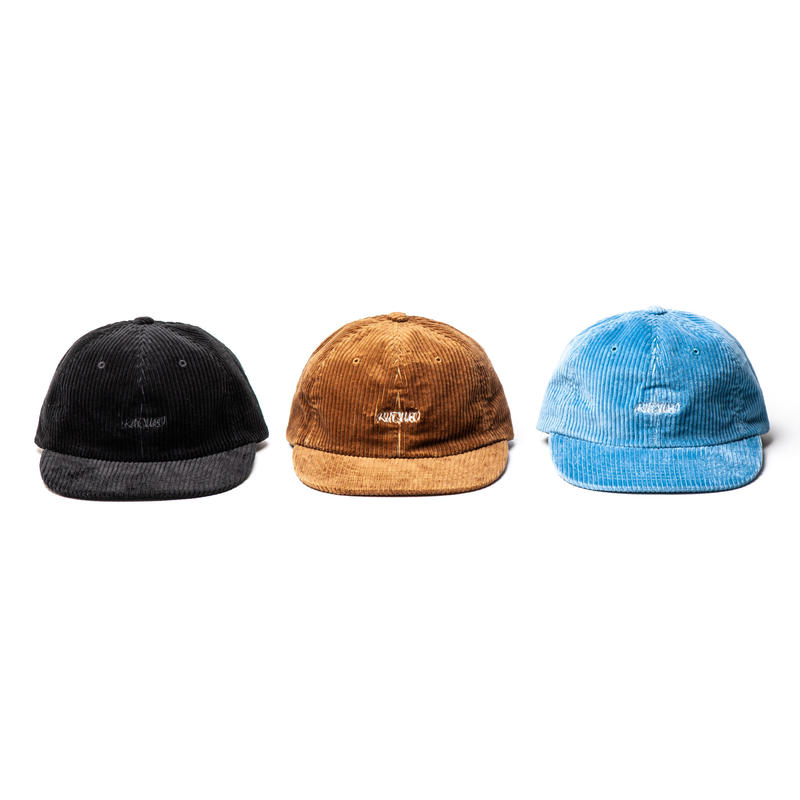 WIDE WALE CORDUROY 6PANEL CAP