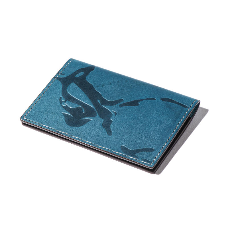 WAVY CARD CASE(GNUOYP×MHAK and RUTSUBO)