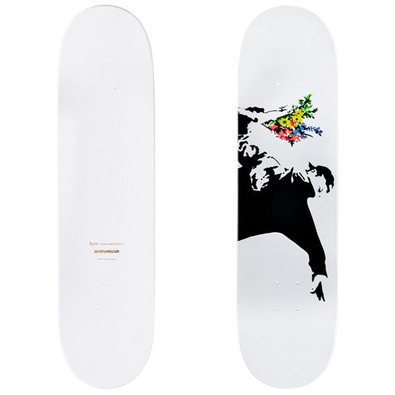 SKATEBOARD DECK FLOWER BOMBER 3rd(Sync.× BRANDALISM)