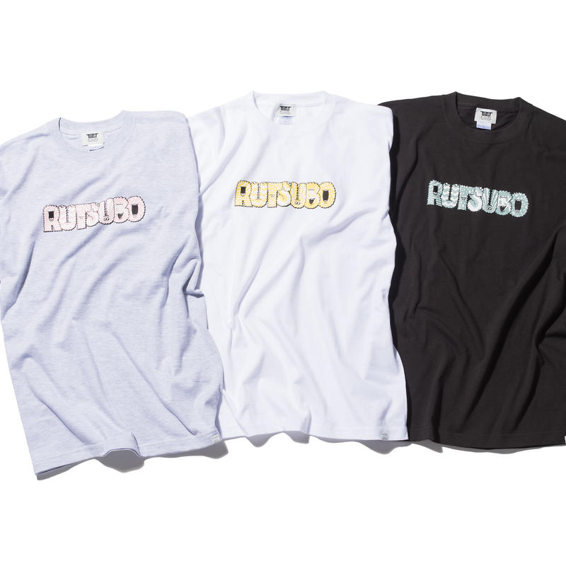 MONSTER FONT S/S TEE(RUTSUBO×ALLRAID)