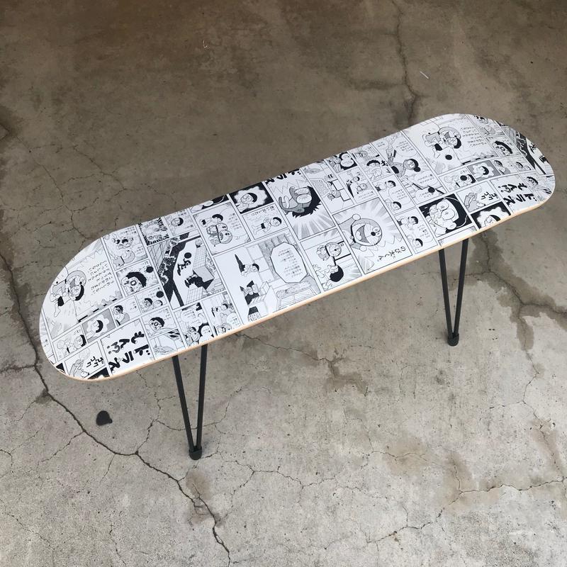 SKATE STOOL 44cm SKATEDECK SET