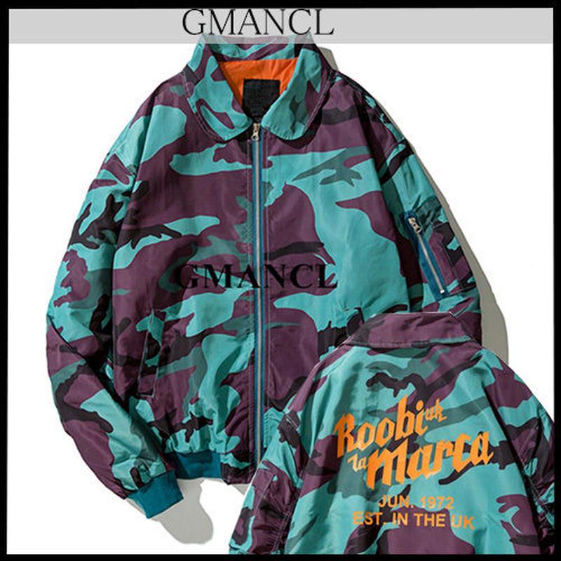 【GMANCL】カモフラージュブルゾンジャケット