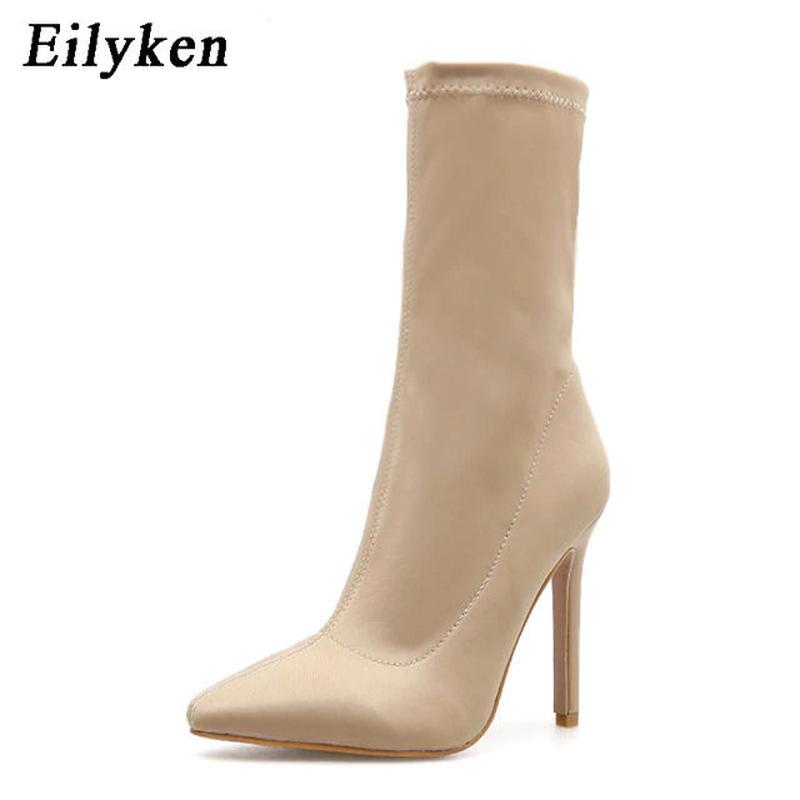 【Eilyken】2color スムースベーシックアンクルブーツ