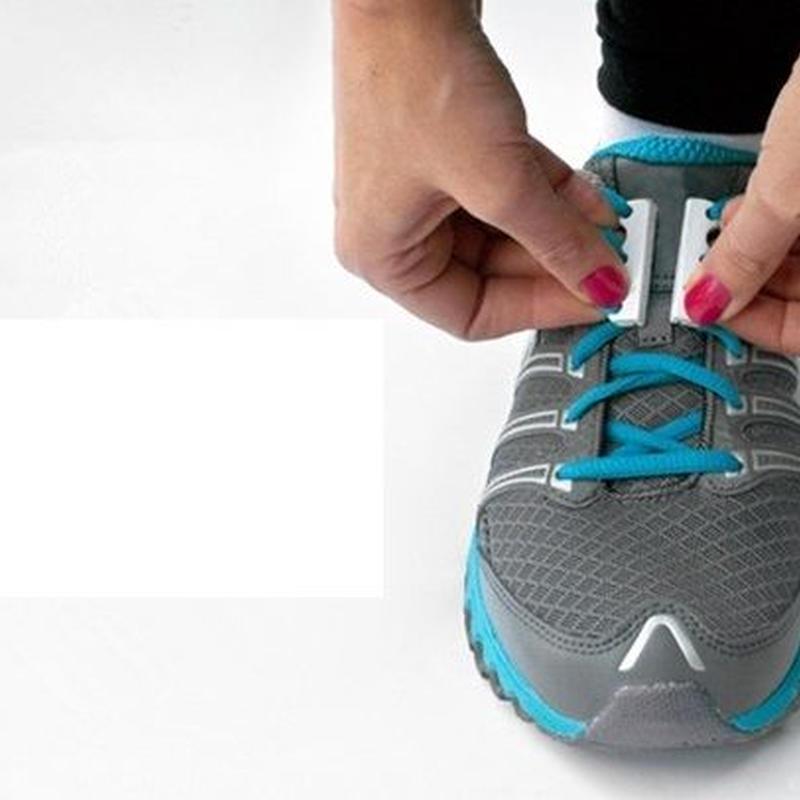靴ひも磁気バックル