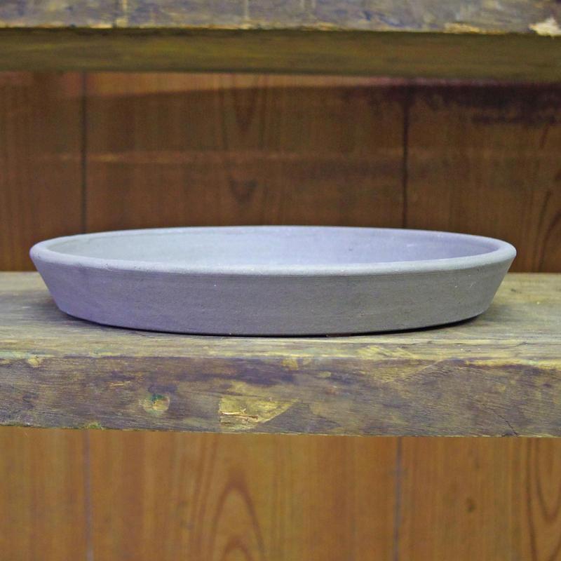 いざわ製陶 いぶし鉢受け皿 8号