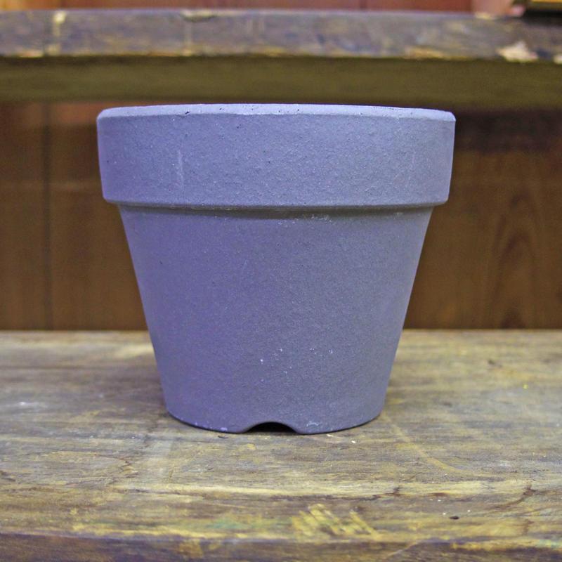 井澤製陶 いぶし鉢 4号