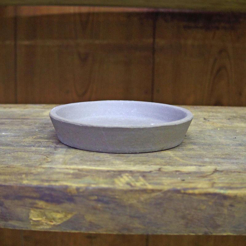 いざわ製陶 いぶし鉢受け皿 4号
