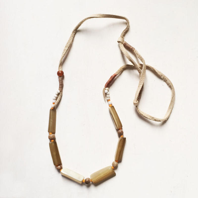 Horn Beads Necklace