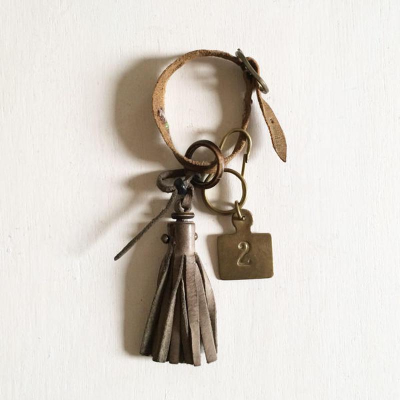 Leather Tassel Charm