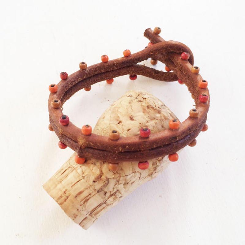 Leather Bracelet/ Random