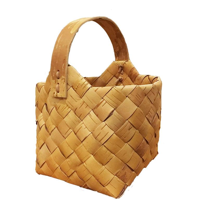 Svensk Hemslöjd_Handmade White Birch Basket