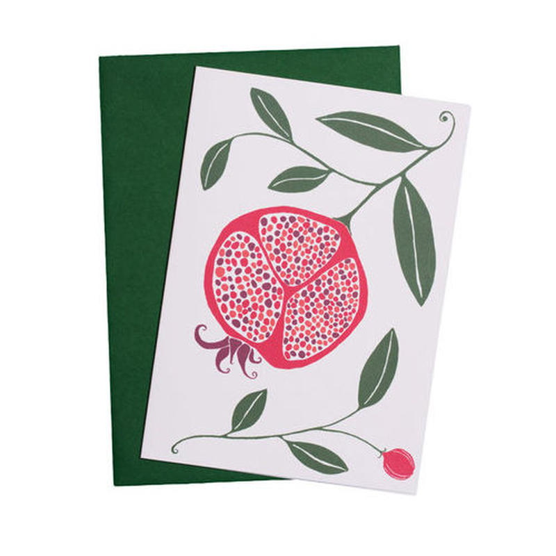 Happy Sthlm_folded card_POMEGRANATE