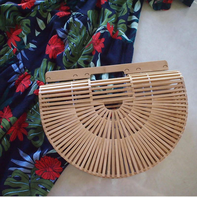 Bamboo moon bag