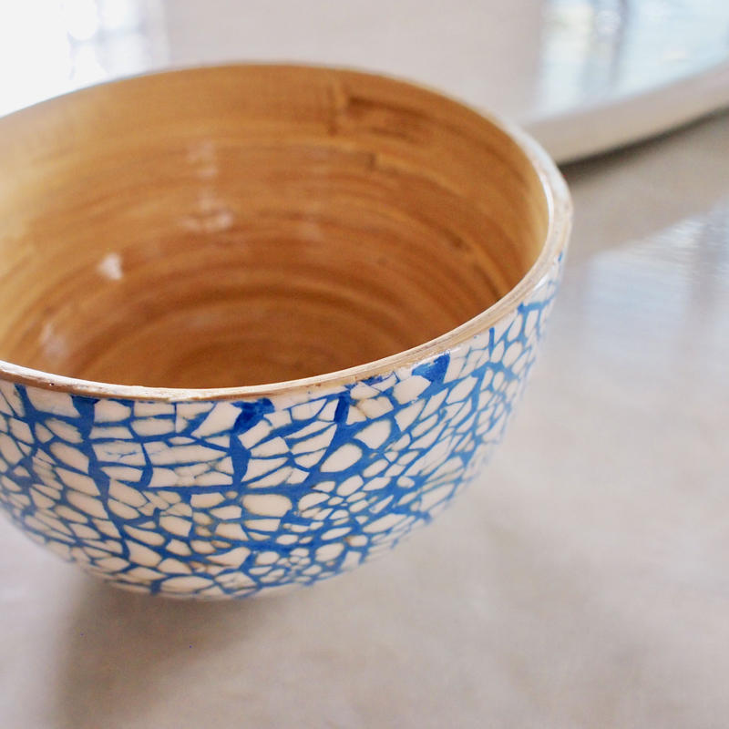 Coconut Bowl: Blue