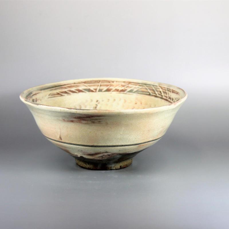 丸子窯 三島茶碗
