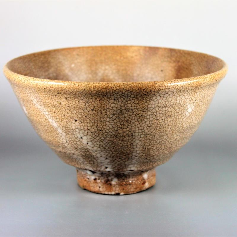 丸子窯 大井戸有楽茶碗