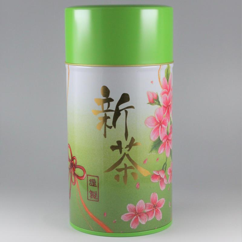 【静岡産川根新茶】200g缶入り