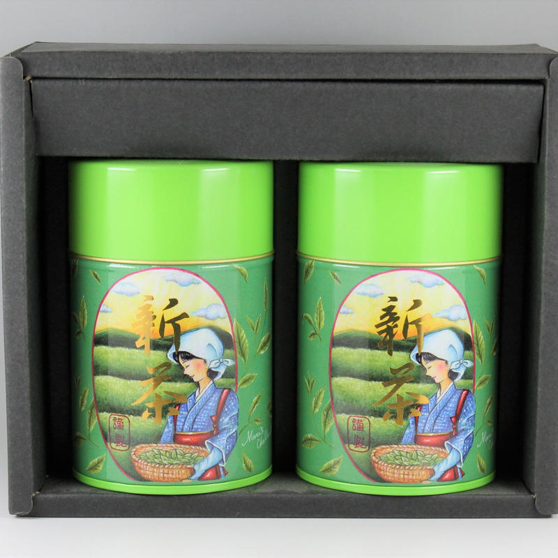 【静岡新茶&送料コミコミ3980円】川根新茶80g缶×二種