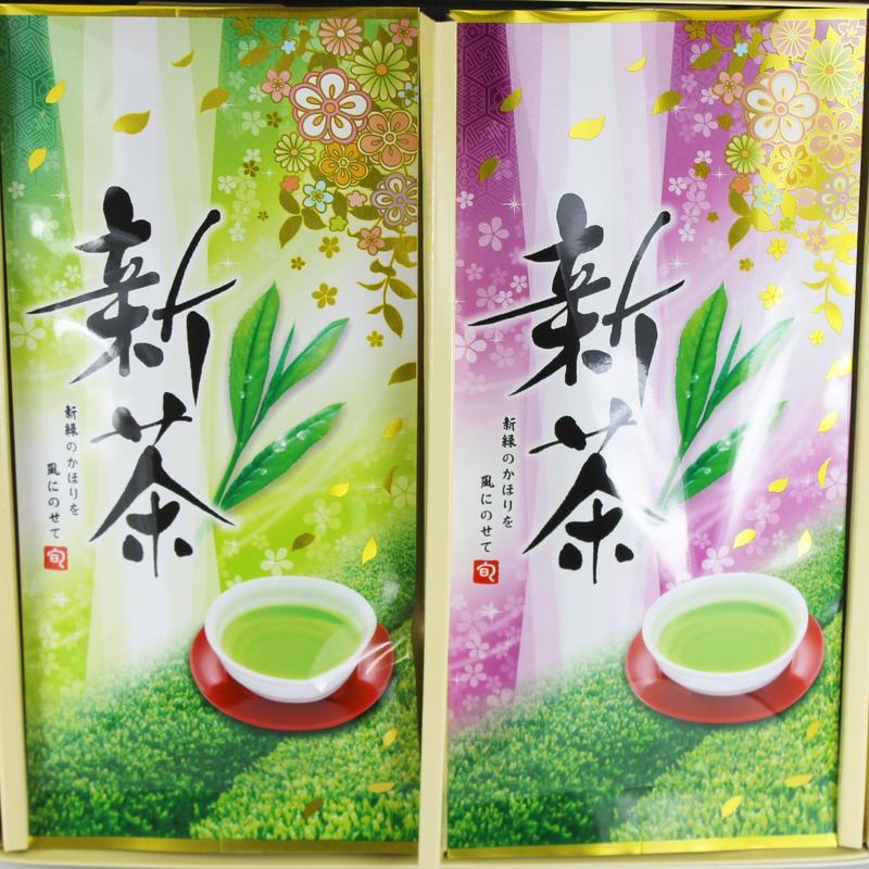 蔵出し新茶 静岡県川根産 飲み比べセット