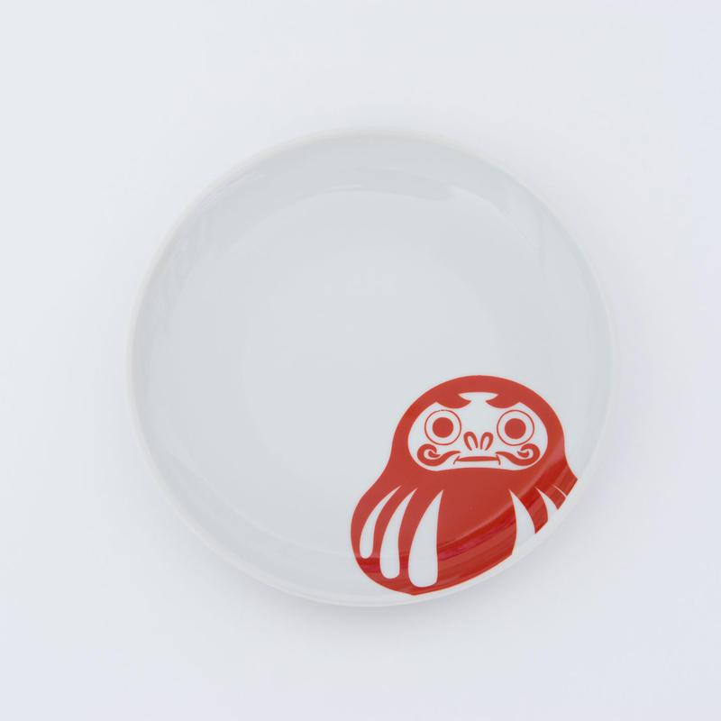 九谷焼 達磨皿