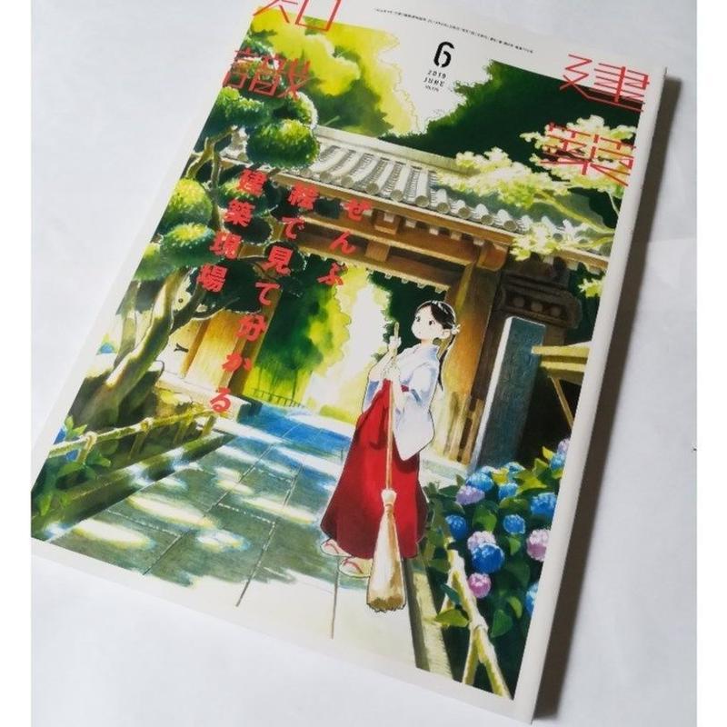 建築知識 19年6月号 ぜんぶ絵で見て分かる建築現場