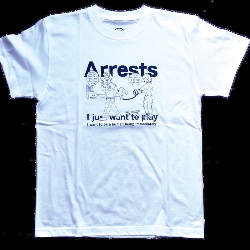 Arrests Tシャツ