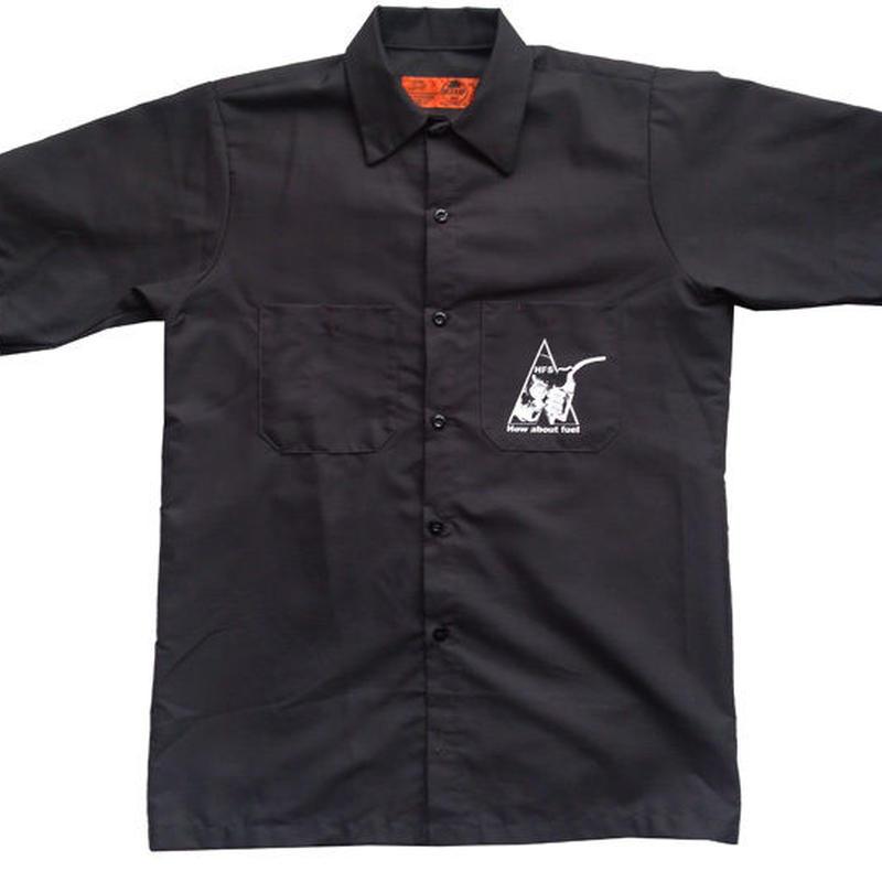 燃料店の叫びwork shirt