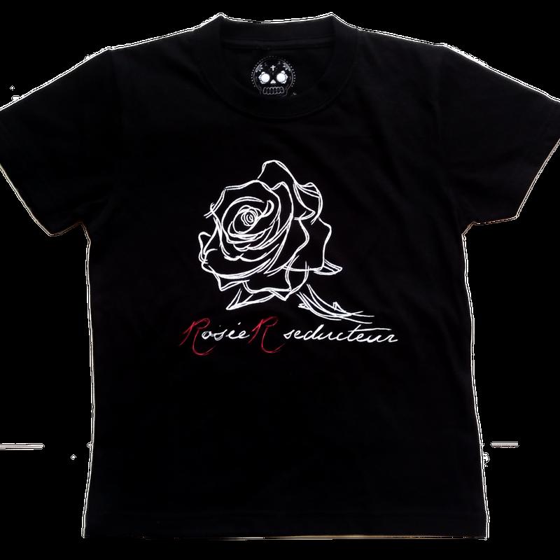 line roseTシャツ