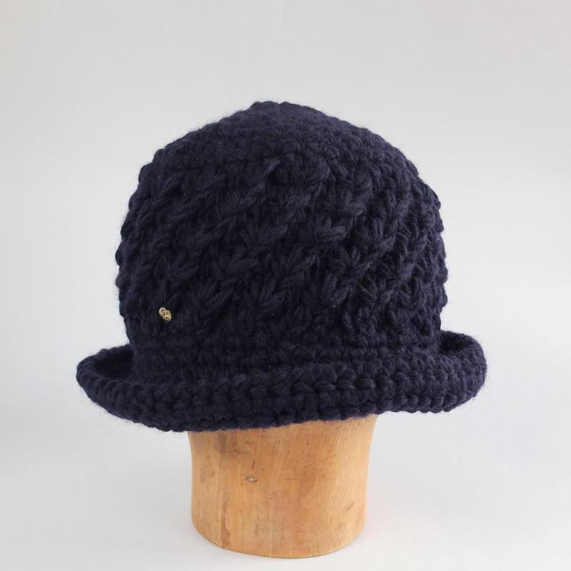 手編みニットクロシェ