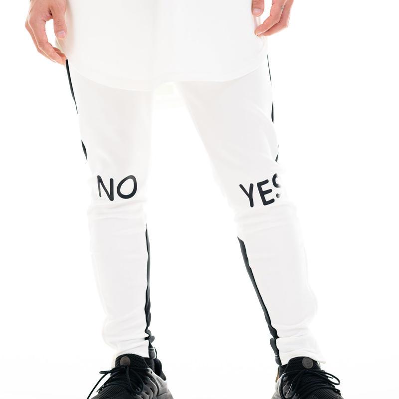 YES/NOラインスキニーパンツ