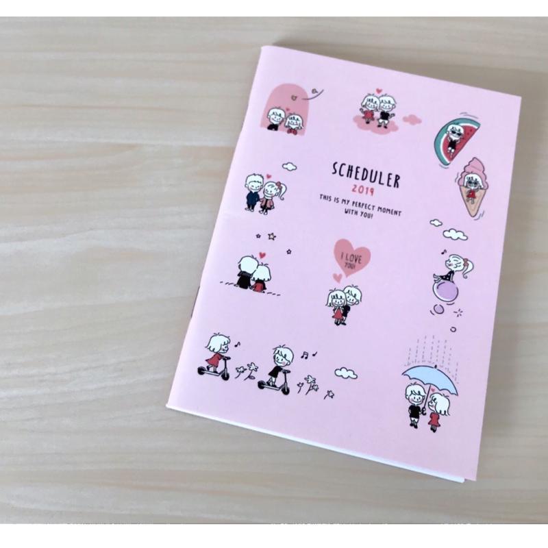 スケジュール帳 / ピンク