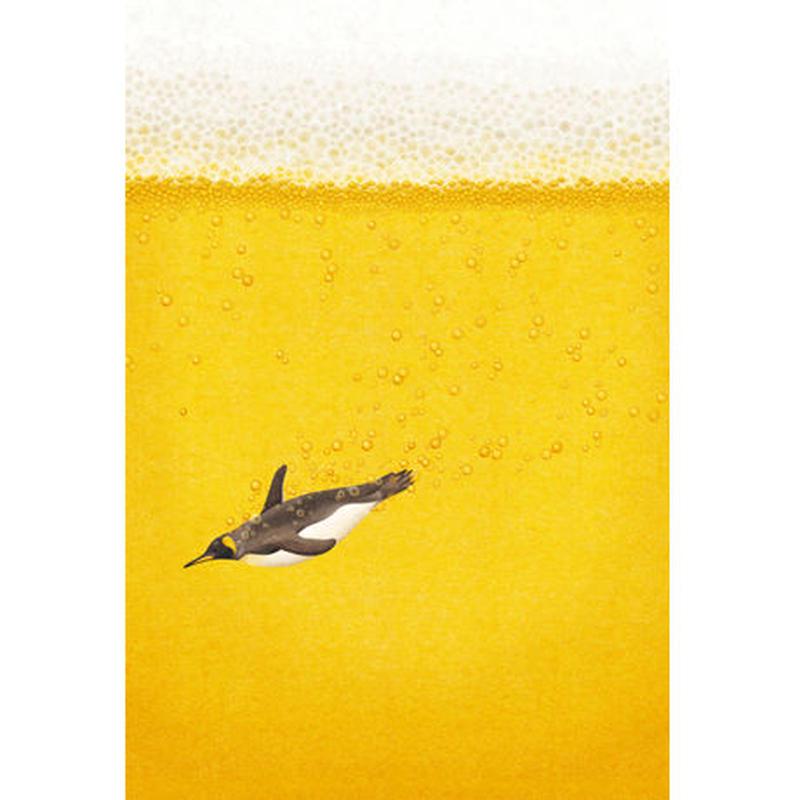 POSTCARD 「Beer! Beer! Beer!」