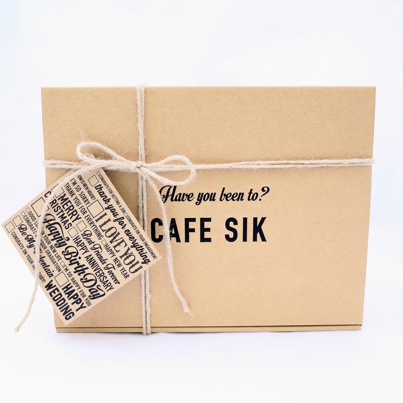 CAFE SIK ギフトパッケージ  Sサイズ