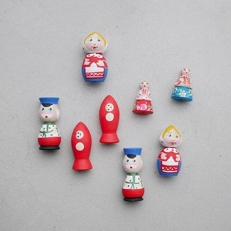 Mini Matryoshka from RUSSIA by NAOKO JIROKU