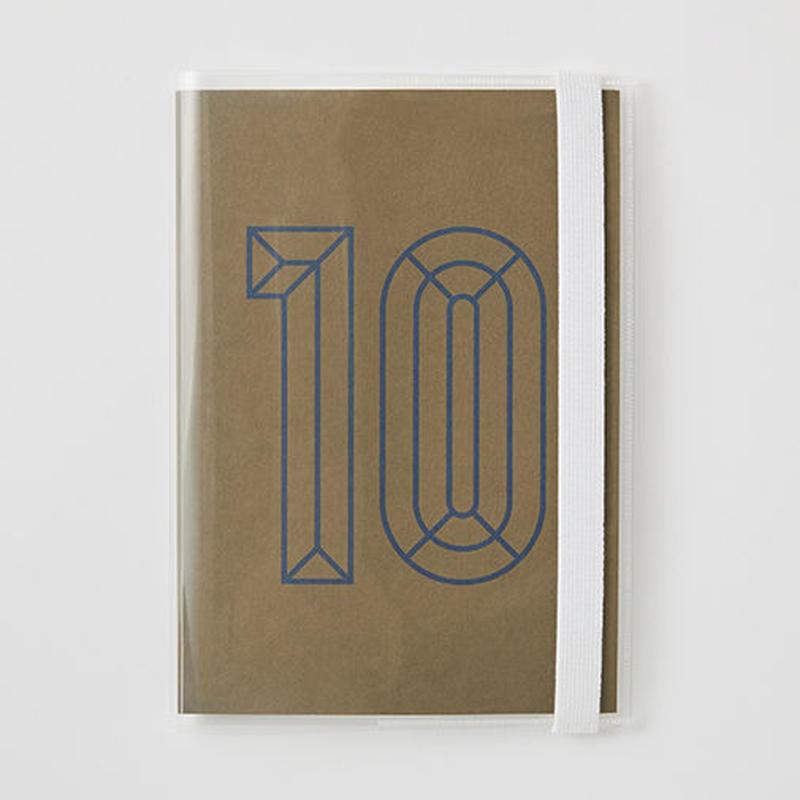 クリアーカバー付きDAILY NOTE 「10」
