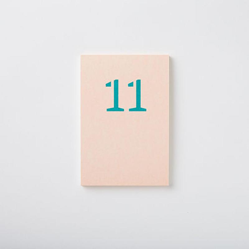 MEMO PAD 「11」
