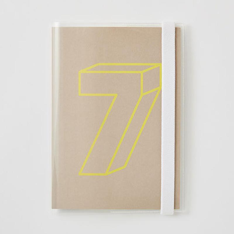 クリアーカバー付きDAILY NOTE 「7」