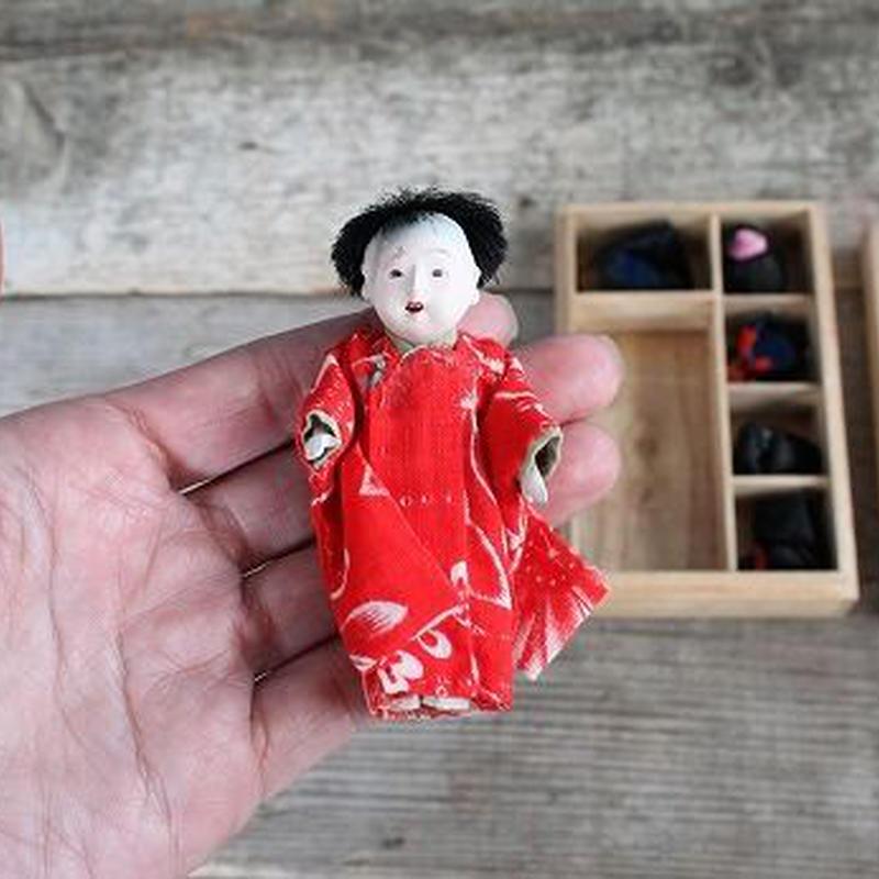 品番 z-0568 着替人形 豆市松