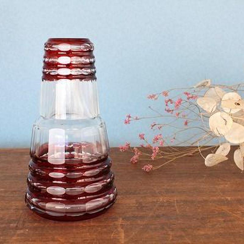 品番 g-0712 冠水瓶 赤