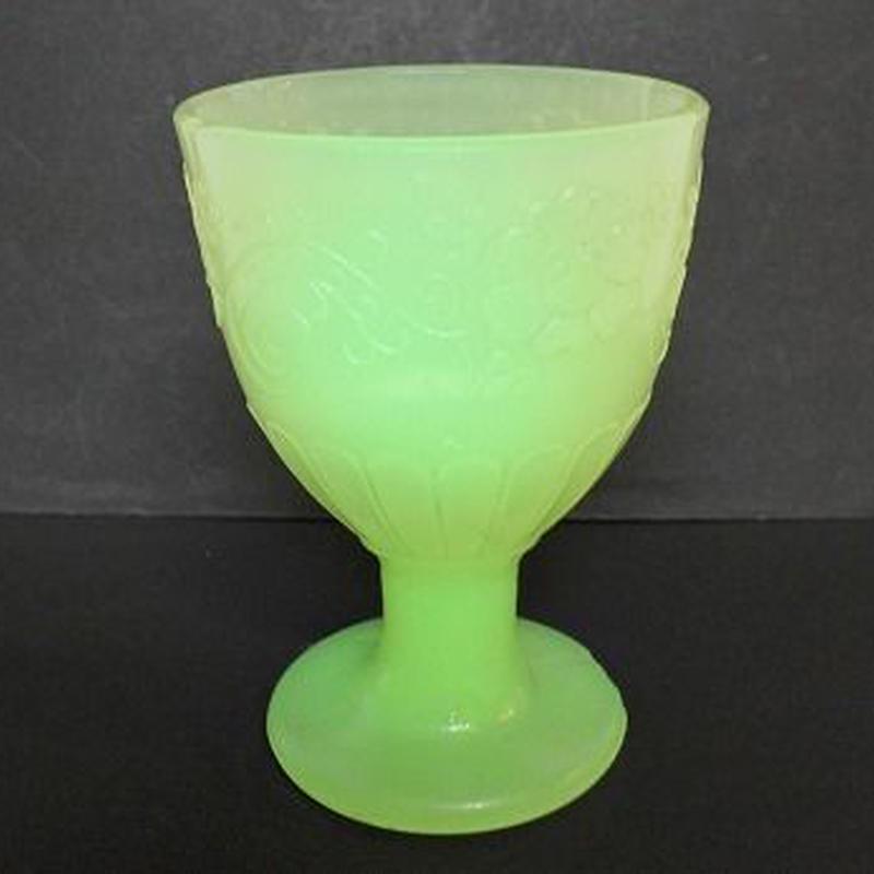 品番 g-0682 ウランガラス 氷コップ