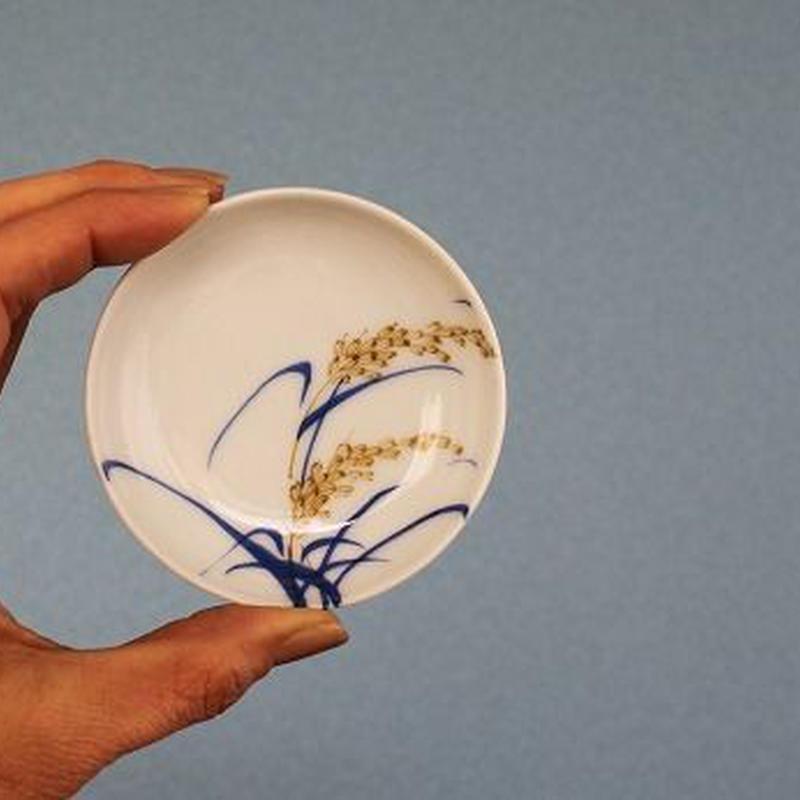 品番 t-0278 稲穂の図 豆皿