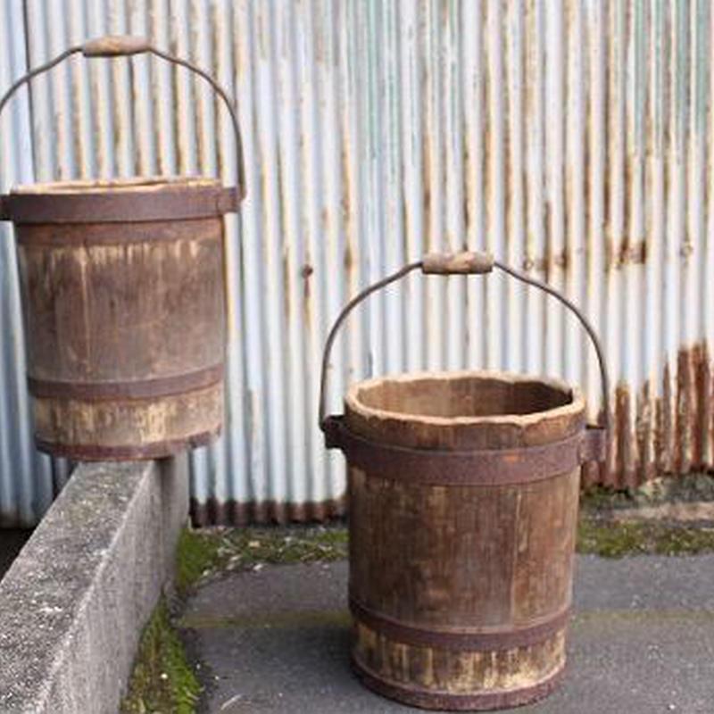 品番 k-0374 持ち手付 桶
