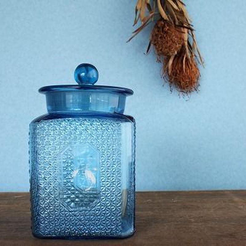 品番 g-0679 飴屋瓶 Blue